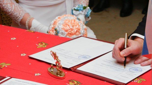 Задевять месяцев вПодмосковье зарегистрировали 46 тыс. браков